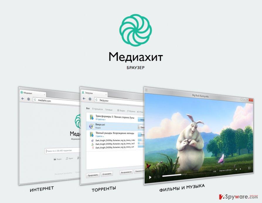 Mediahit Browser snapshot