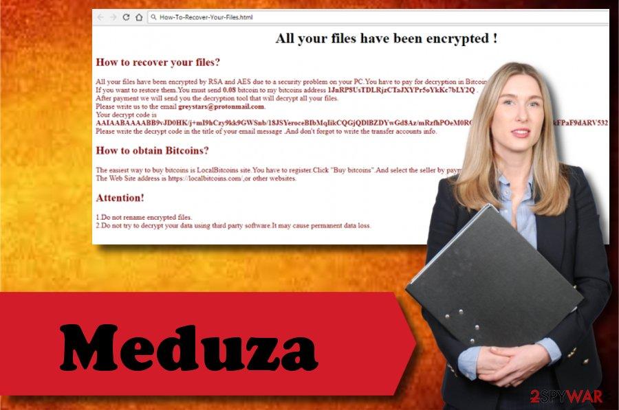 Meduza ransomware