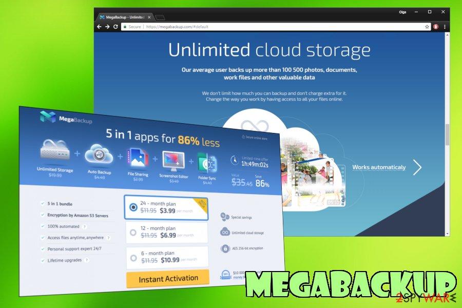 MegaBackup PUP