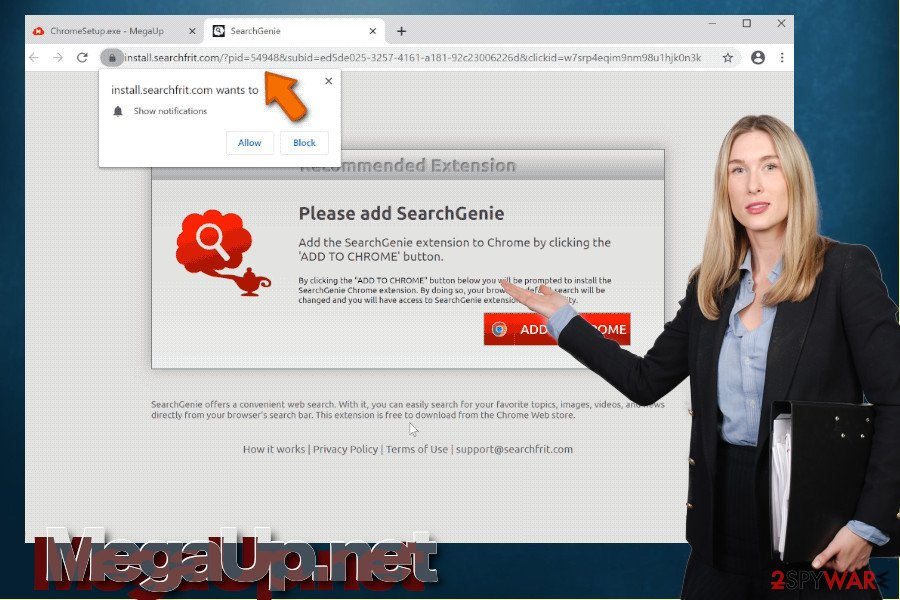 MegaUp.net virus