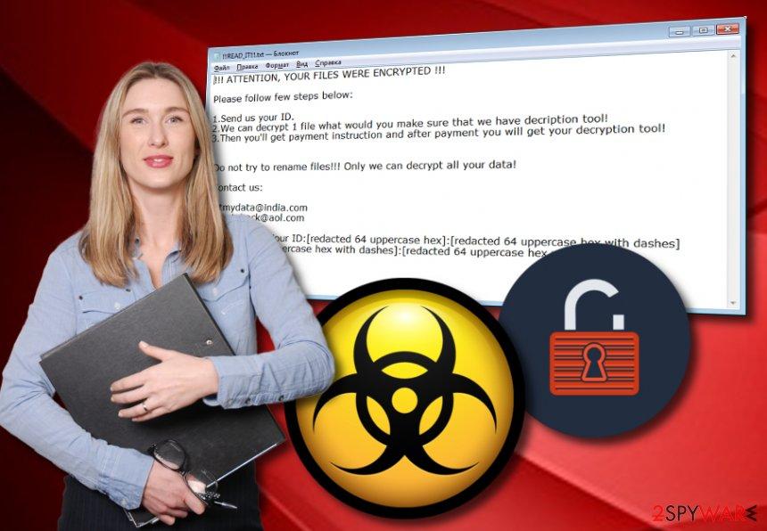 Mercury ransomware virus
