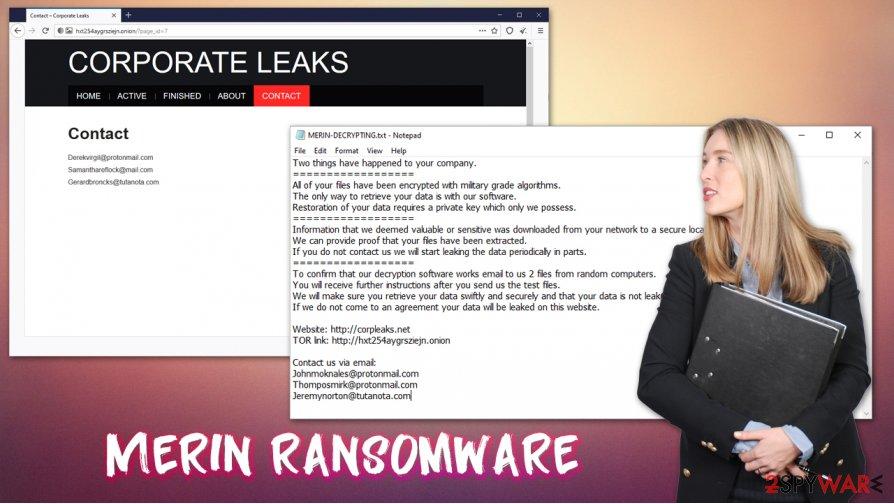 Merin ransomware virus
