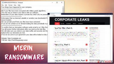 Merin ransomware