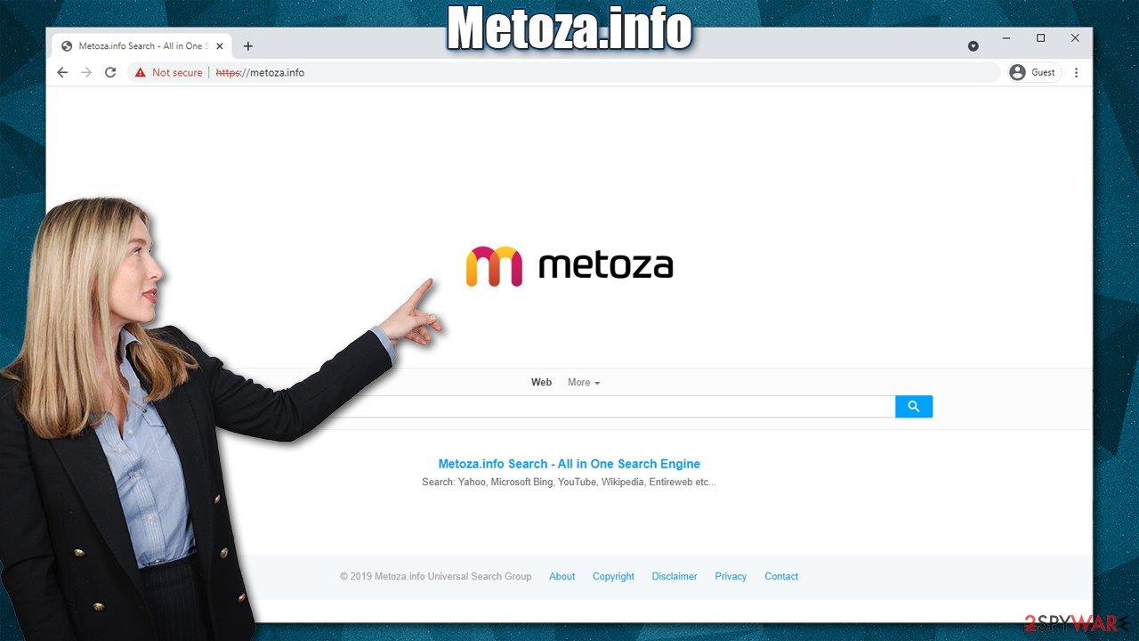 Metoza.info virus