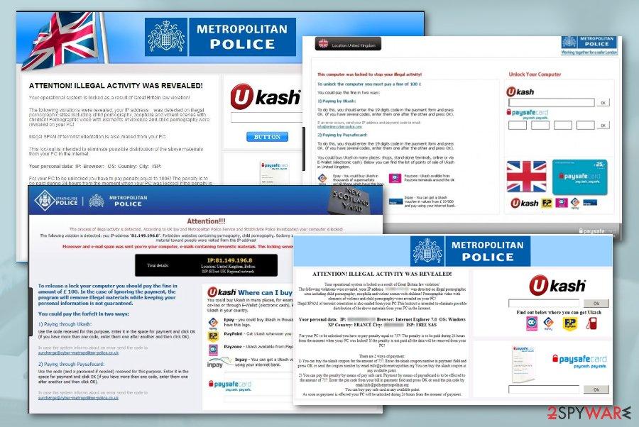 Metropolitan Police scam
