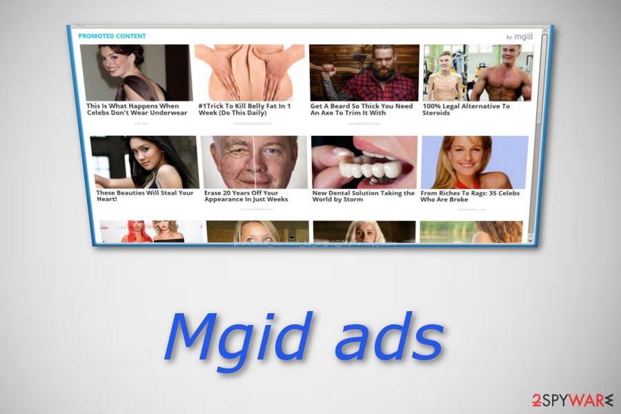 Mgid pop-up