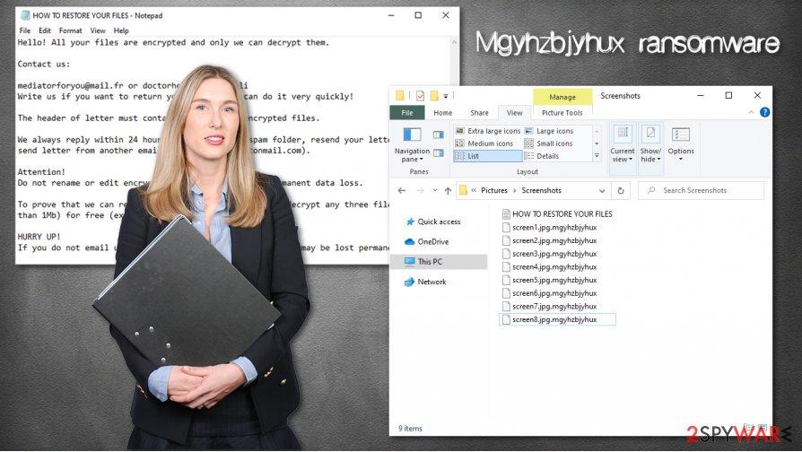 Mgyhzbjyhux ransomware virus
