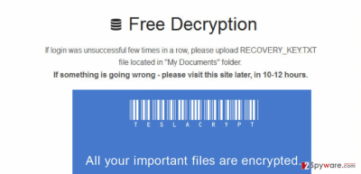 The example of .micro file extension virus