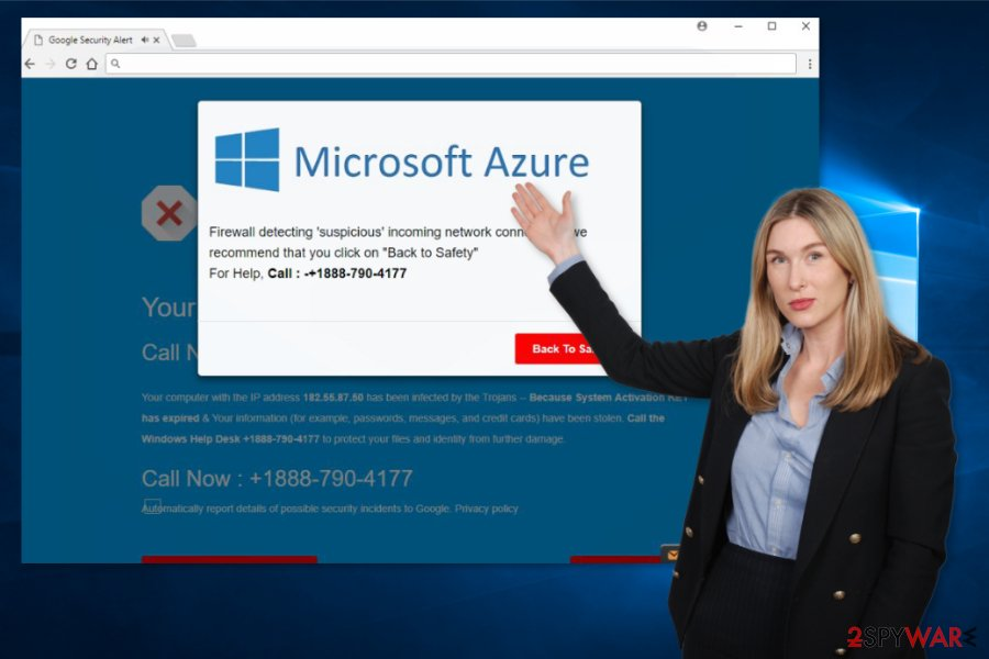 Image of Microsoft Azure scam