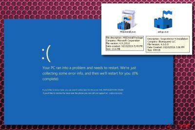 Microsoft Security Essential Alert known as Hicurdismos