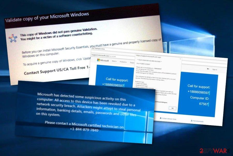 Microsoft tech support scam