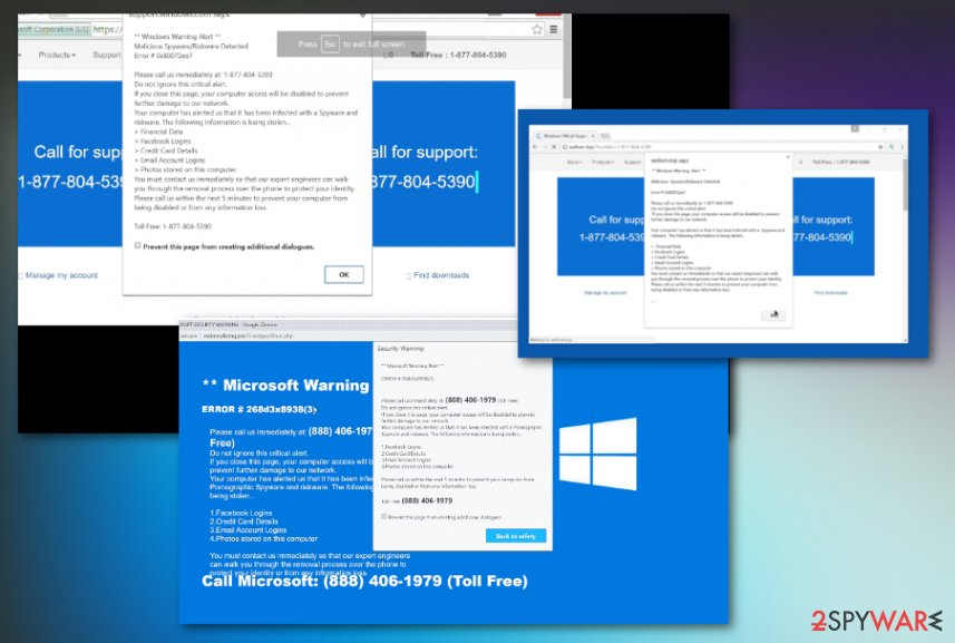 Windows Warning Alert virus