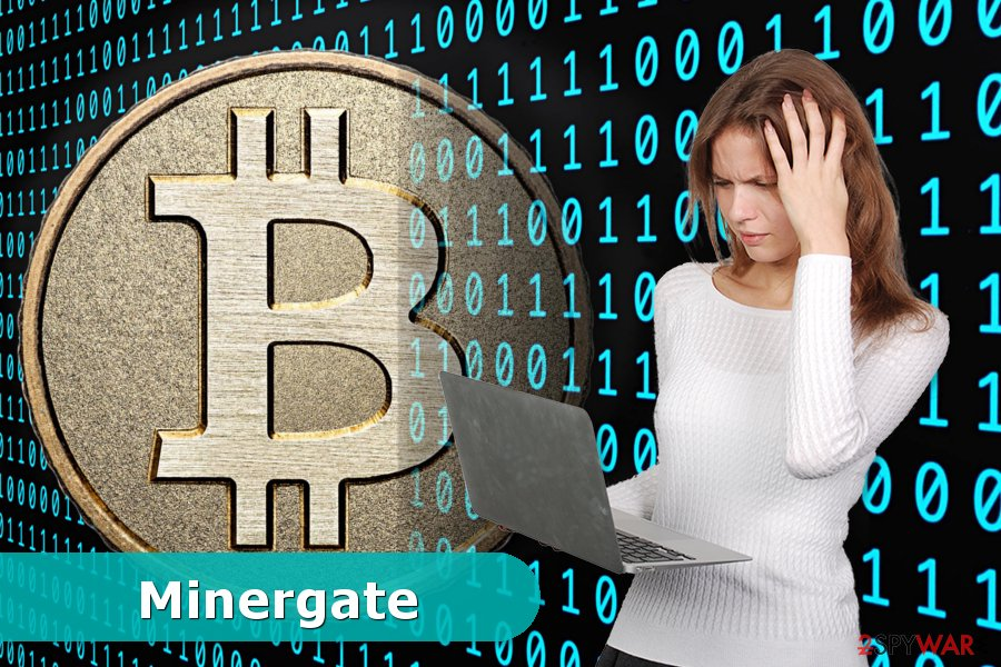 Example of Minergate virus