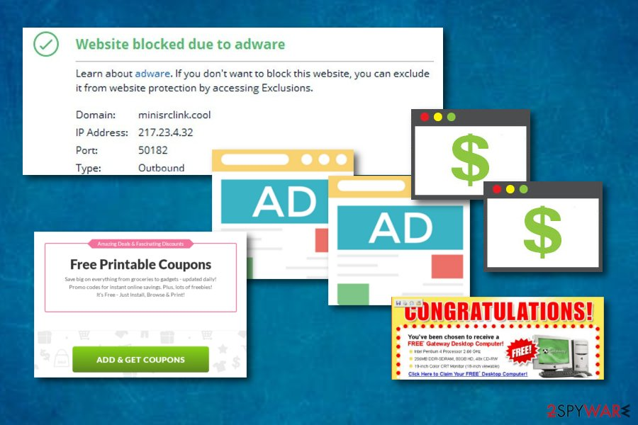 Minisrclink.cool adware