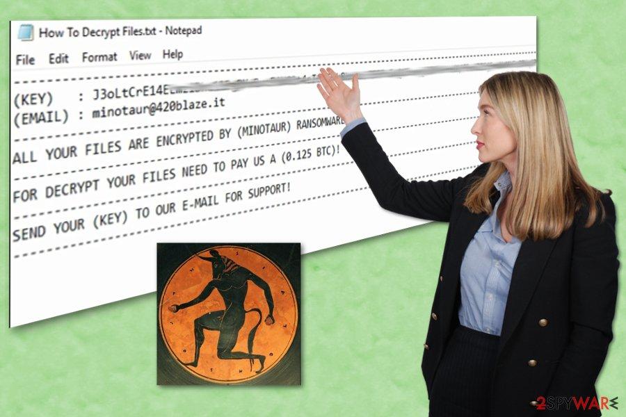 Minotaur ransomware virus