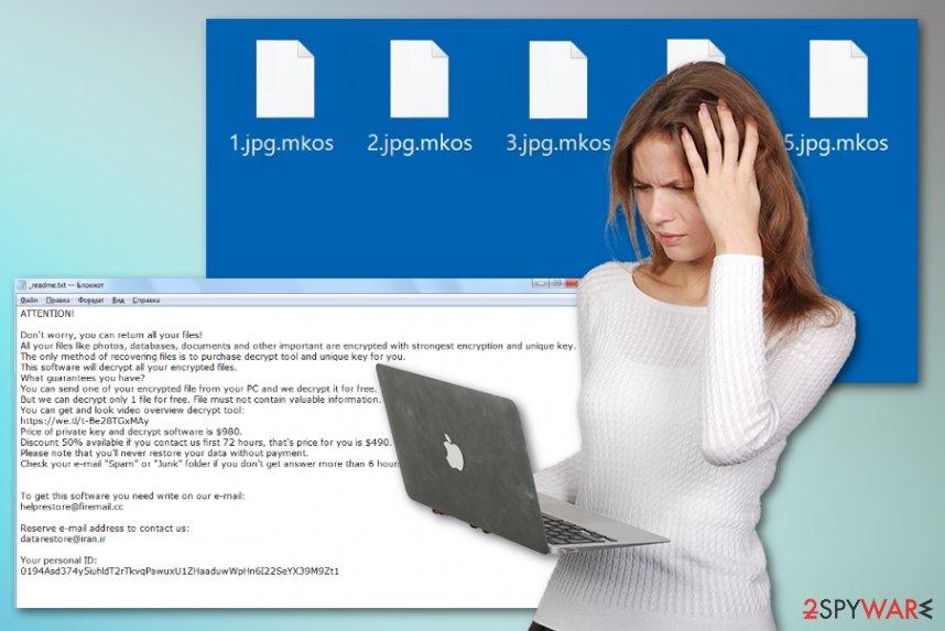 Mkos ransomware virus