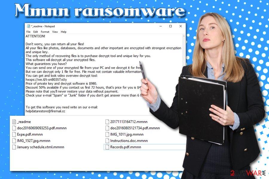 Mmnn ransomware virus