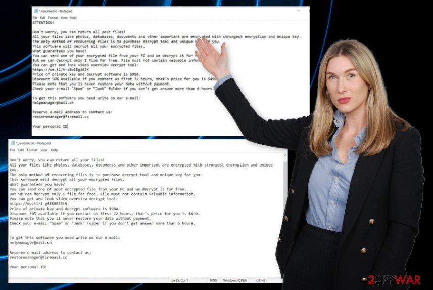 Moba ransomware virus