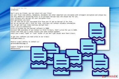 Mogera ransomware virus