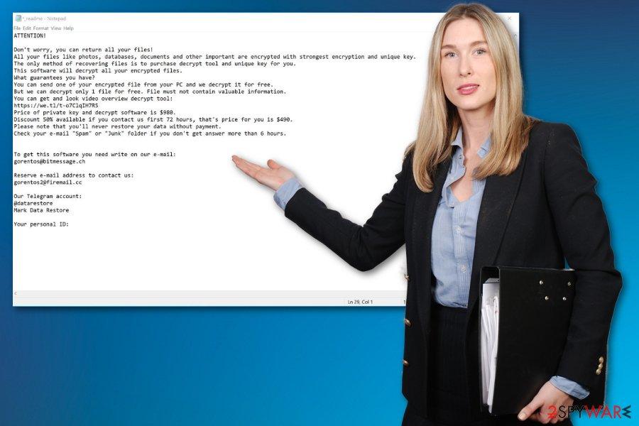 Mogranos ransomware virus