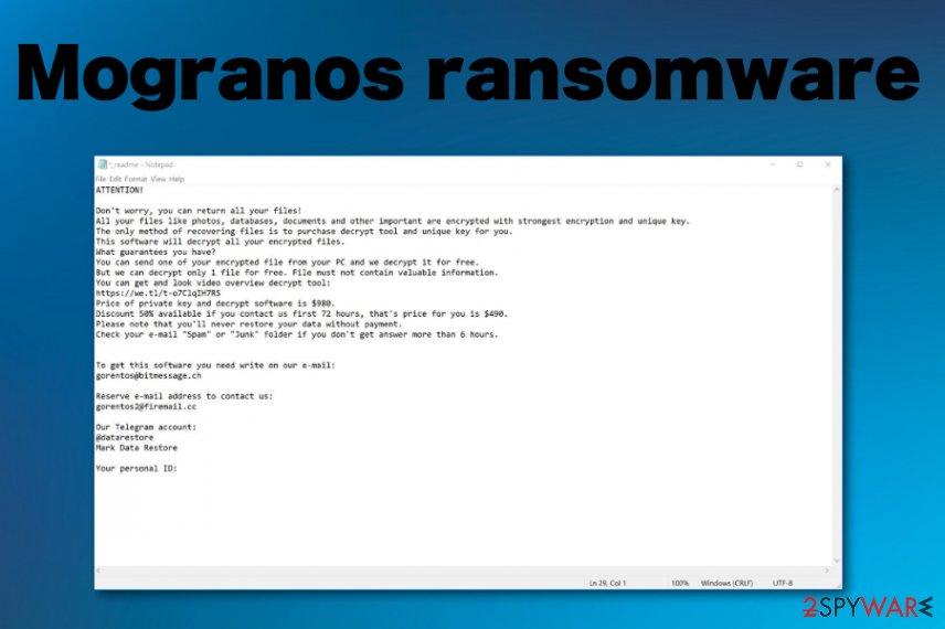 Mogranos ransomware
