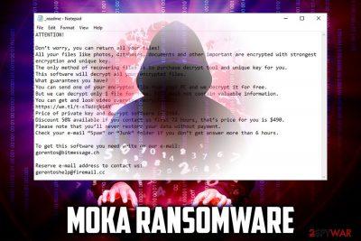 Moka ransomware