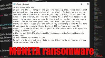 MONETA ransomware