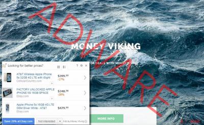 Money Viking ads