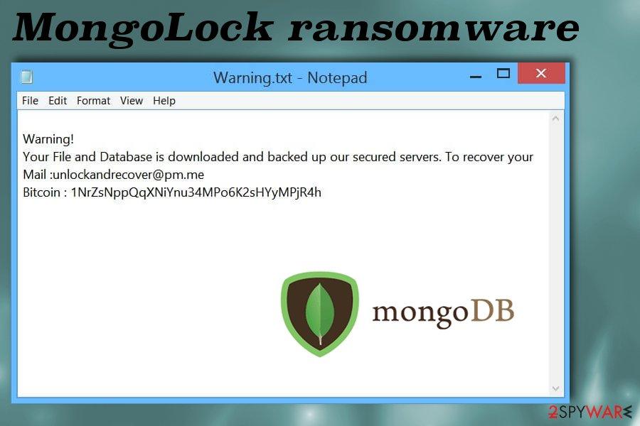 MongoLock ransomware