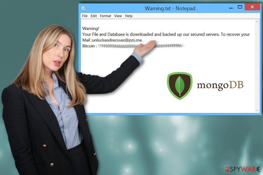 MongoLock ransomware virus
