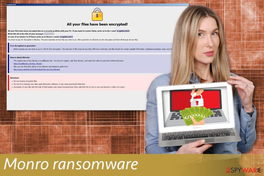 Monro ransomware
