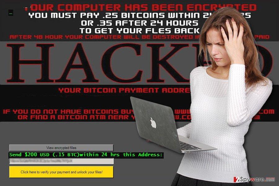 Monument ransomware virus