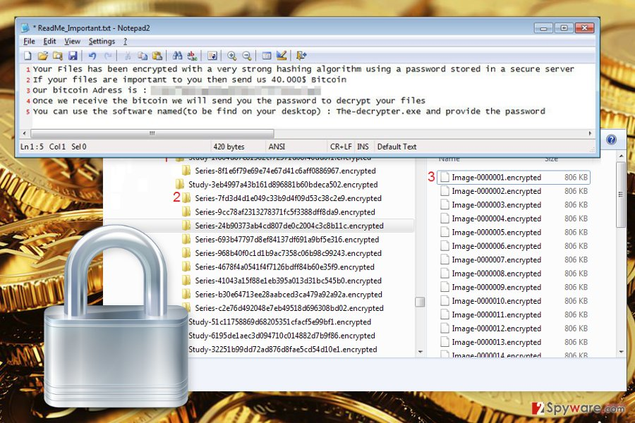 The image of Mora Project ransomware