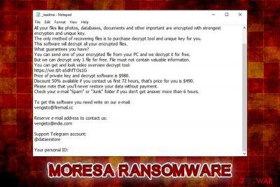 Moresa ransomware