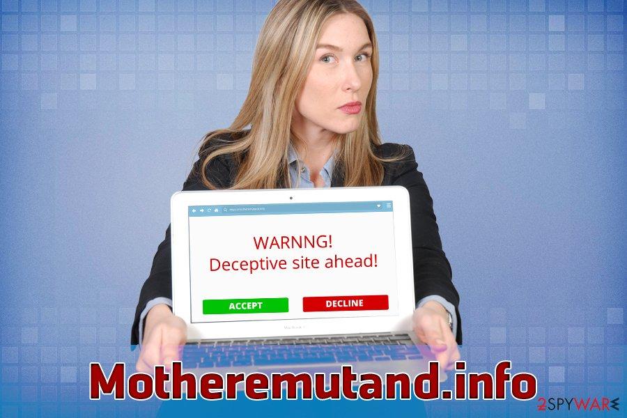 Motheremutand.info PUP