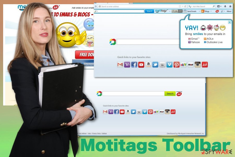 Motitags Toolbar virus