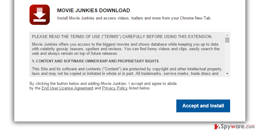 MovieJunkies New Tab