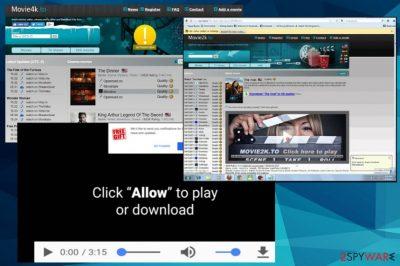 Movie2k ads