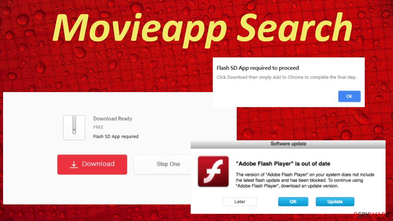 Movieapp Search redirect