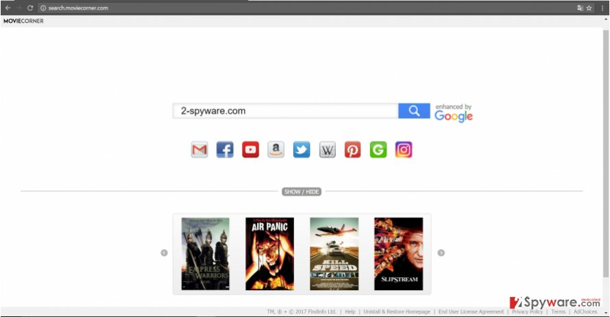 The image of search.moviecorner.com