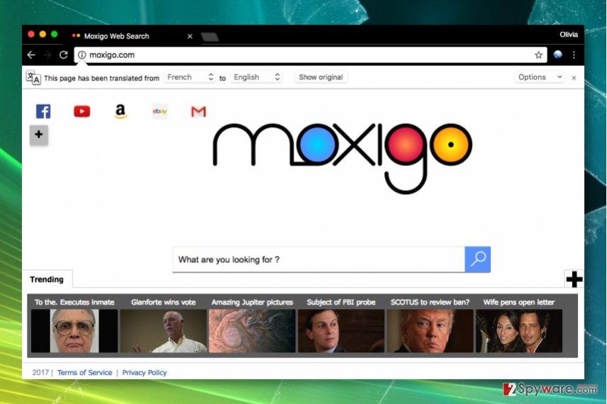 Moxigo.com redirect virus