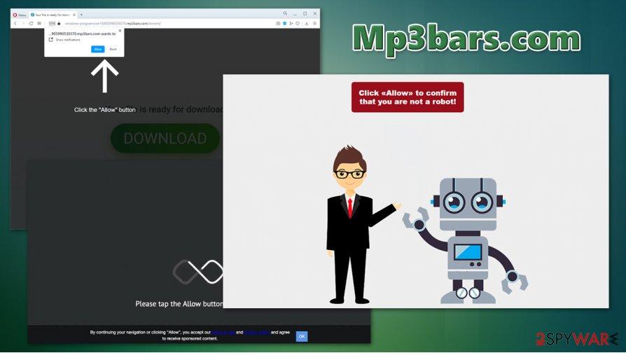 Mp3bars.com virus