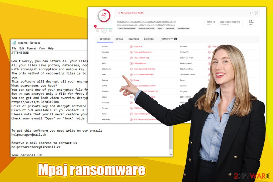 Mpaj ransomware virus