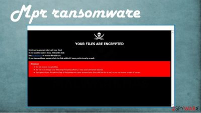 Mpr ransomware