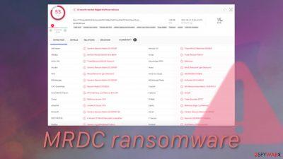 MRDC ransomware