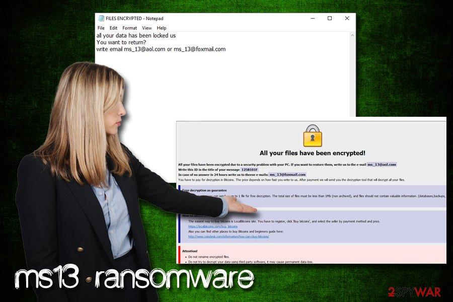 ms13 ransomware virus