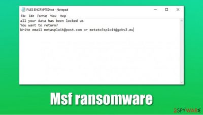 Msf ransomware
