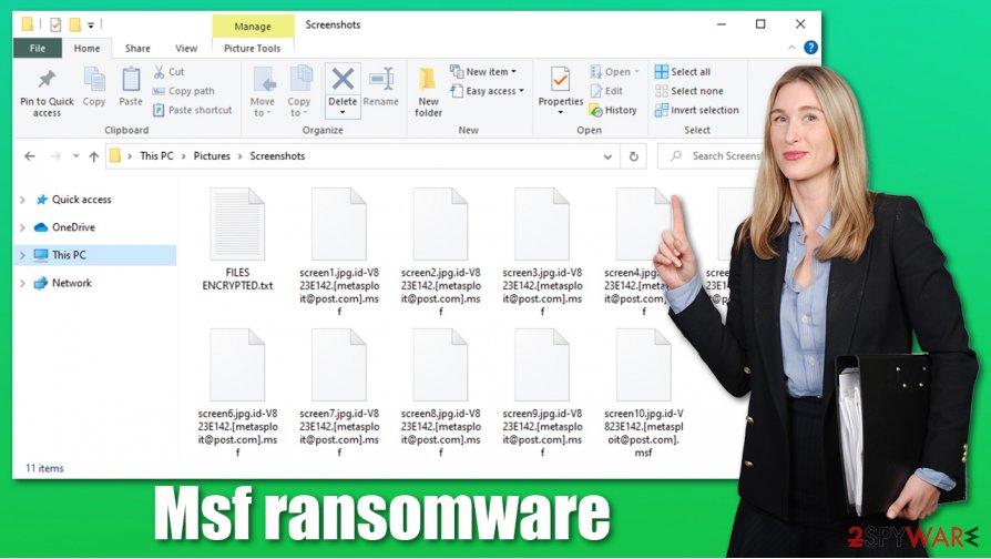 Msf ransomware virus