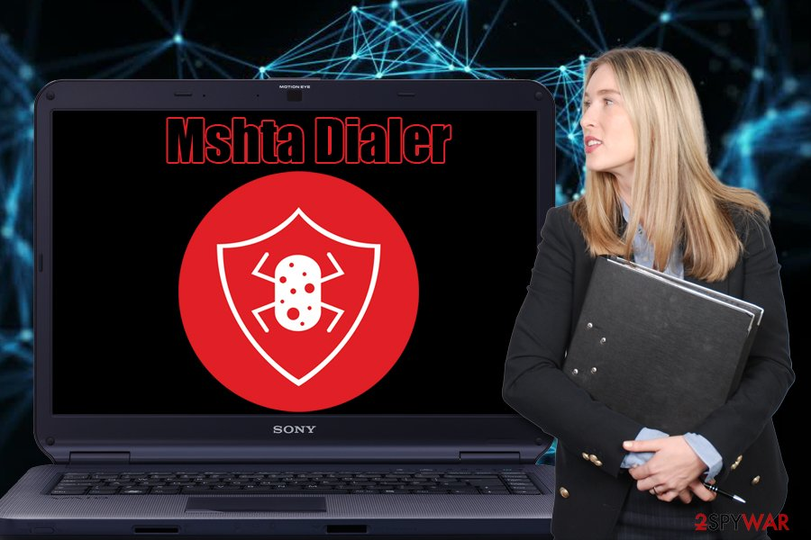 Mshta Dialer malware
