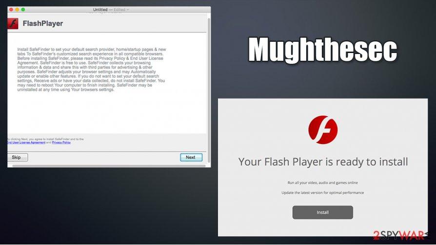 Mughthesec malware